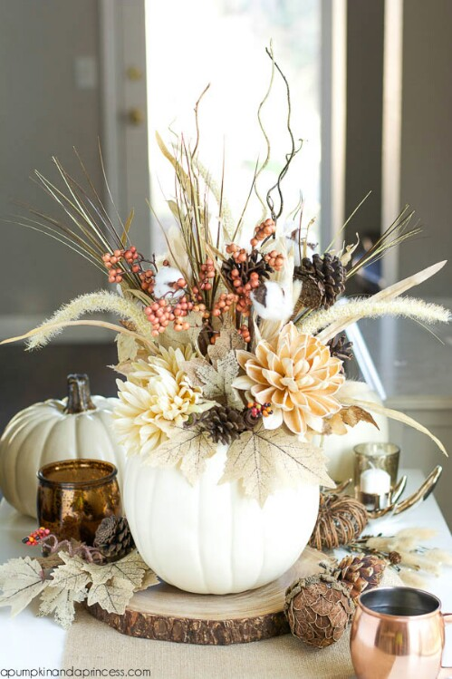 11. Fall Flower Arrangement