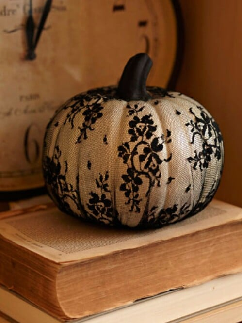 15. Actual Lace Pumpkin