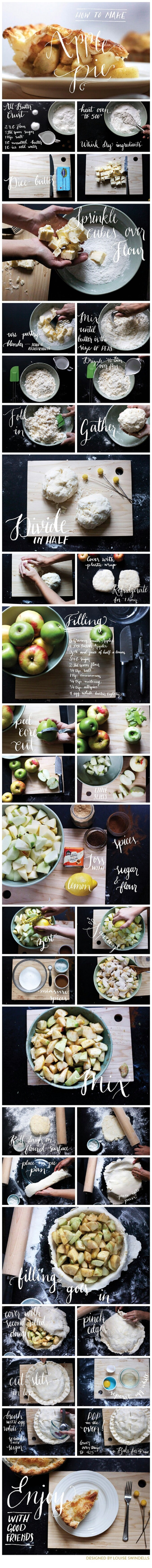17. Learn how to make an apple pie.
