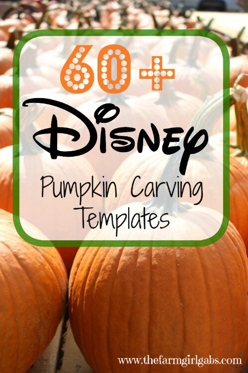 20. Disney Pumpkin Carving Printable Templates