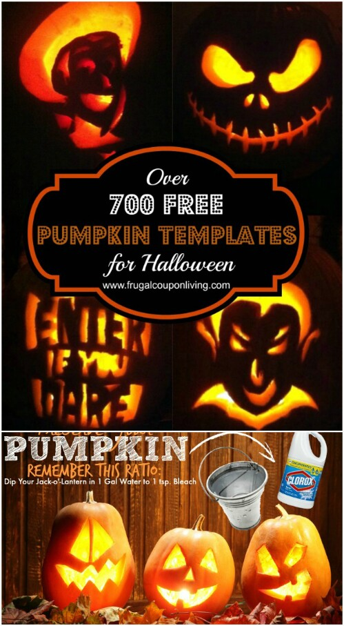 21. More Than 700 Printable Pumpkin Carving Templates