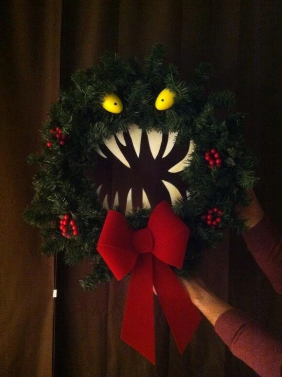 24. Christmas/Halloween Monster
