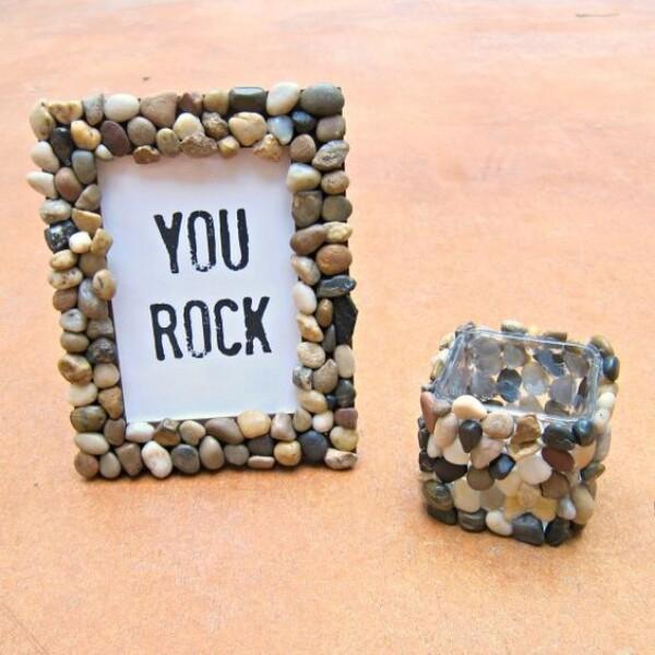26. Rock Accented Décor