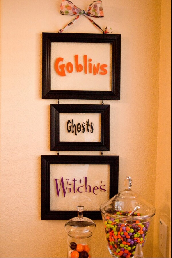 30 Frugally Decorative Dollar Store Halloween Crafts and Decorations ...