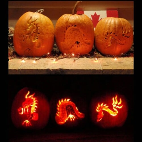 70 Creative Pumpkin Carving and Decorating Ideas You Can Easily ...