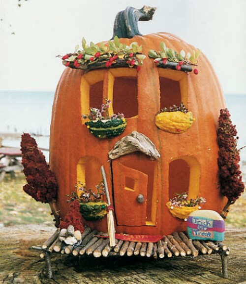 39. Pumpkin House