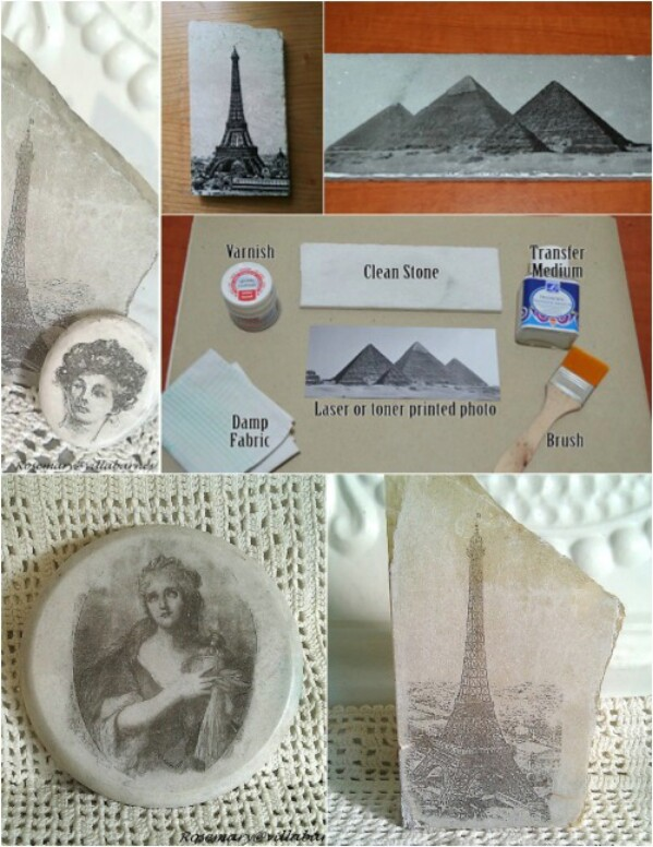 4. Stone Photo Transfers