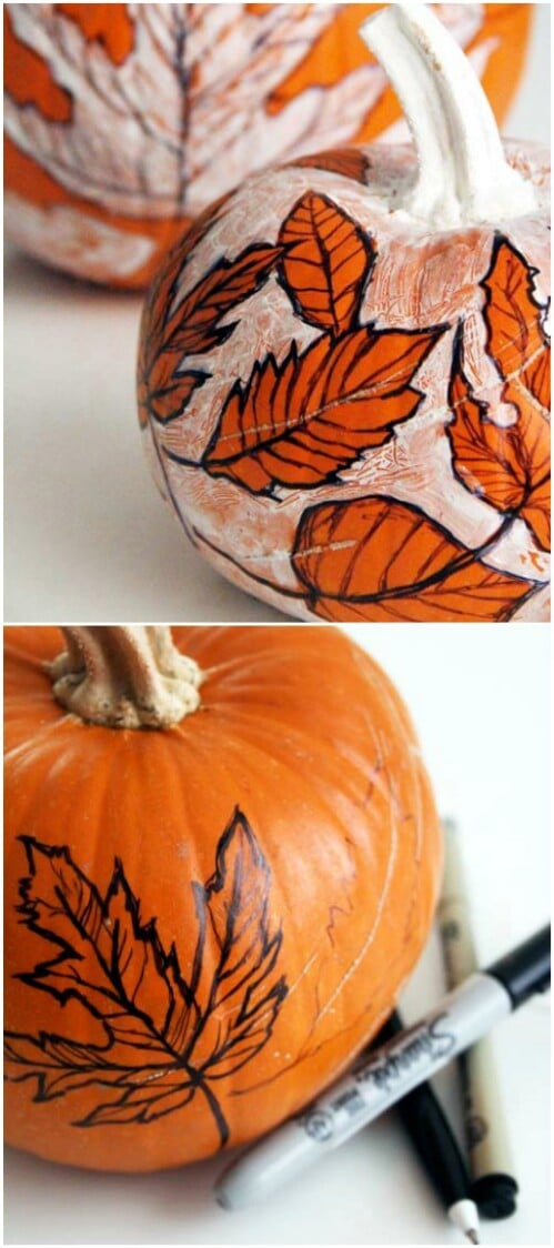 61. Sketch On Your Pumpkin