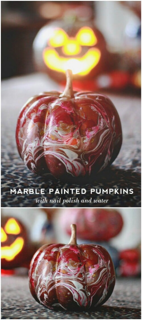 64. Marbleized Pumpkin