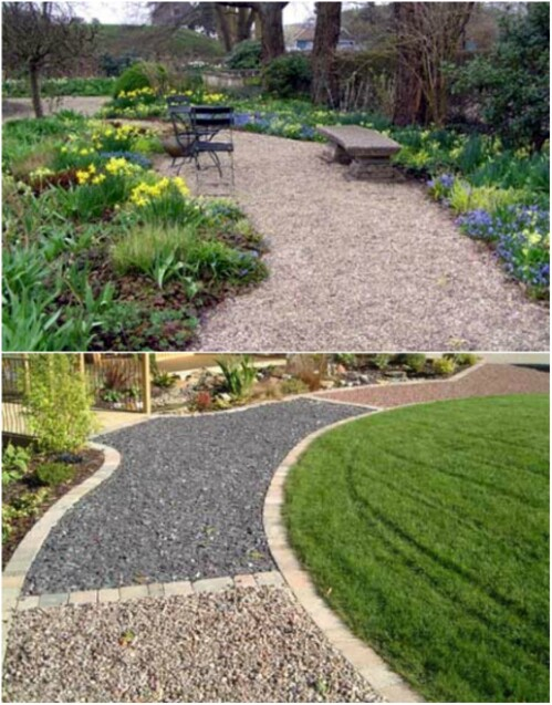 8. Edge Your Walkway