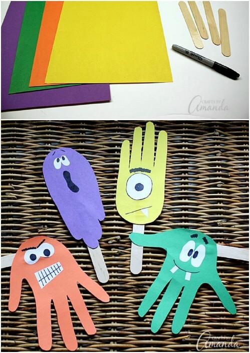 Handprint Puppets