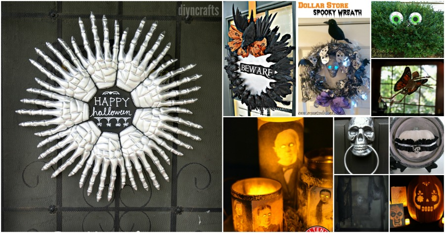 30 frugally decorative dollar store halloween crafts and decorations for spooky fun - Spooky Halloween Store