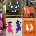 20 Spooky And Fun Handprint And Footprint Halloween Crafts