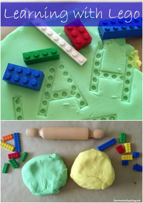 Lego Learning - Fun Playdough Games, Projects, and Activities