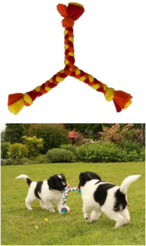 Three-Sided Pull Toy