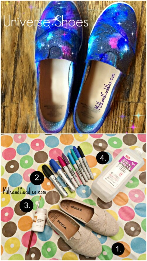 Make a pair of shoes look totally amazing.