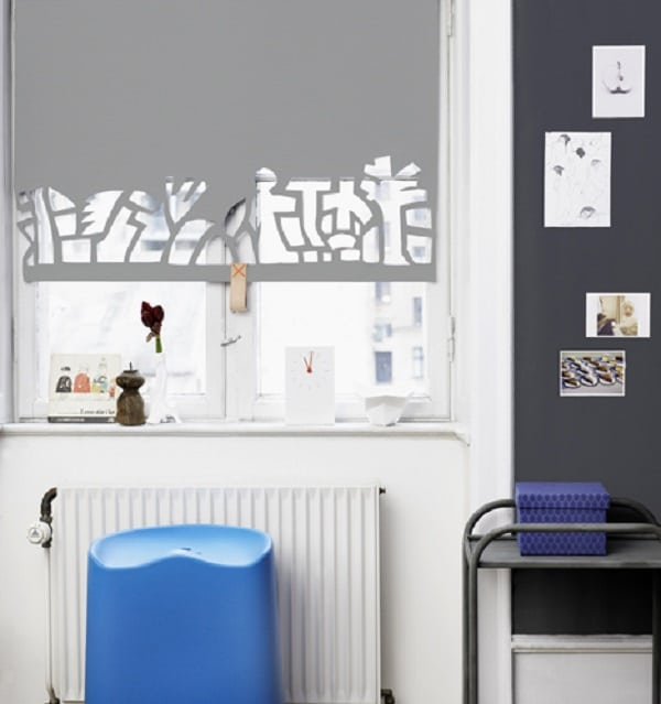 Homemade Window Blinds Ideas Part - 33: Cut Out Roller Blind