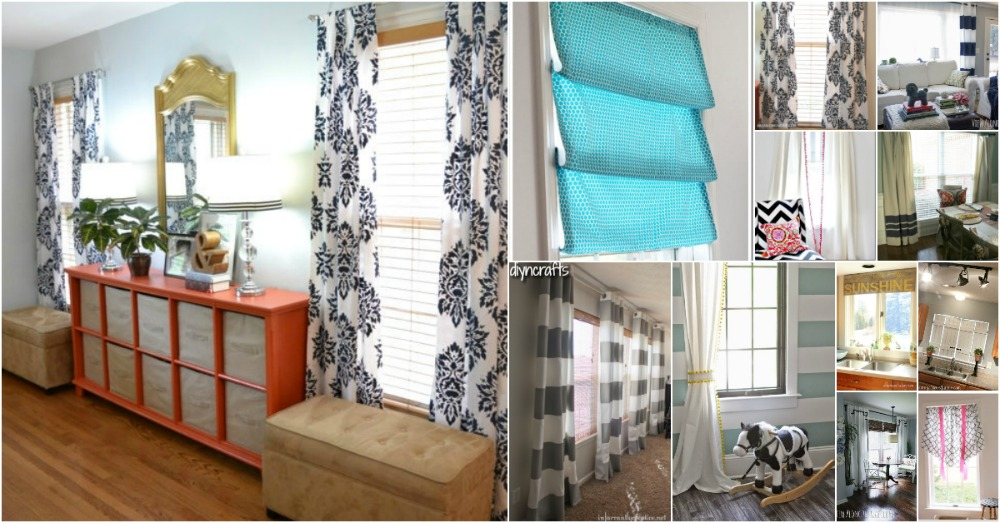 20 elegant and easy diy curtain ideas to dress up your windows diy 20 elegant and easy diy curtain ideas to dress up your windows diy crafts solutioingenieria Images