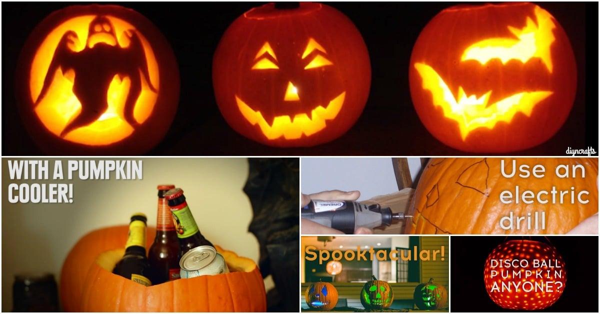 These Genius Pumpkin Hacks Will Make This the Spookiest Halloween Ever