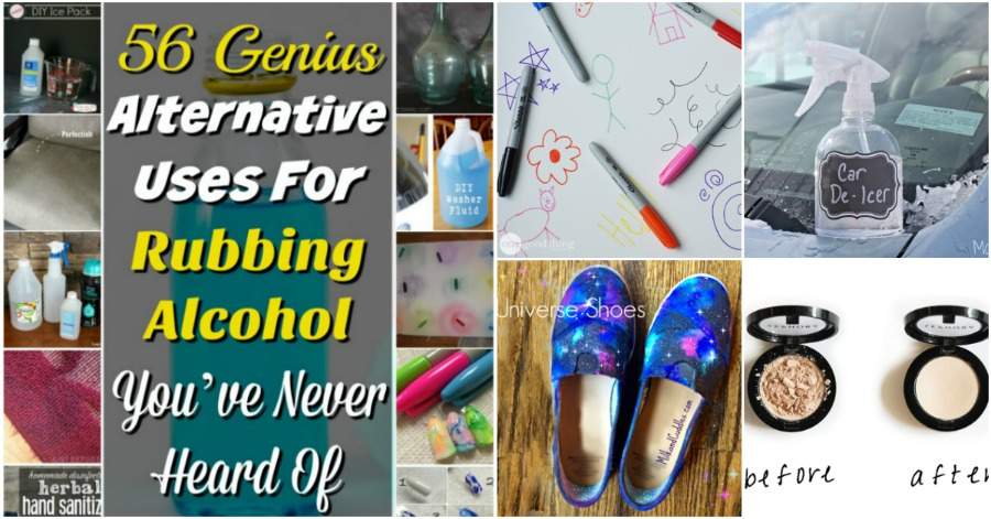 56 Genius Alternative Uses For Rubbing Alcohol You Ve