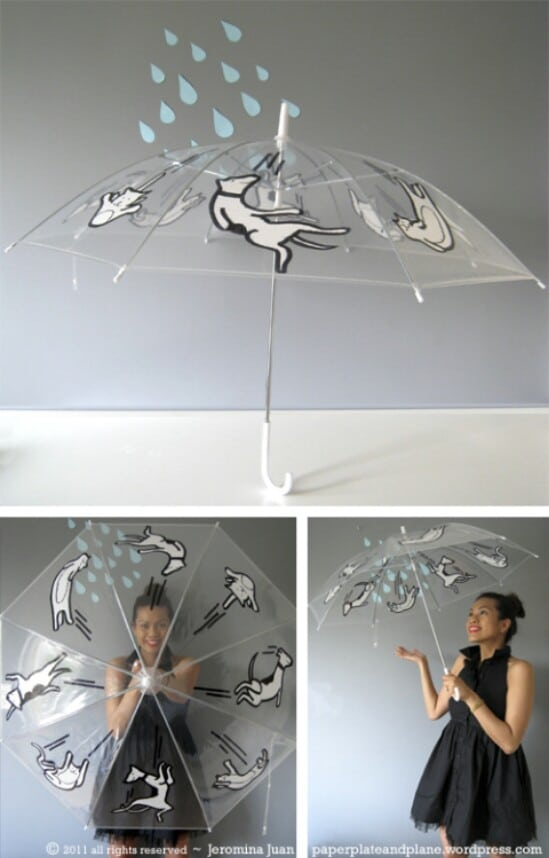 Sharpie Design Umbrella