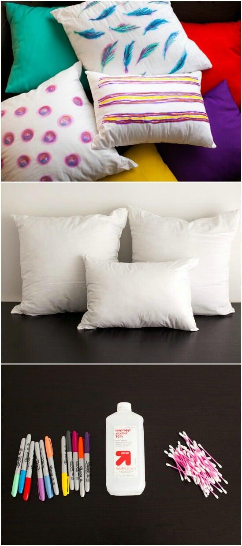Watercolor Throw Pillows