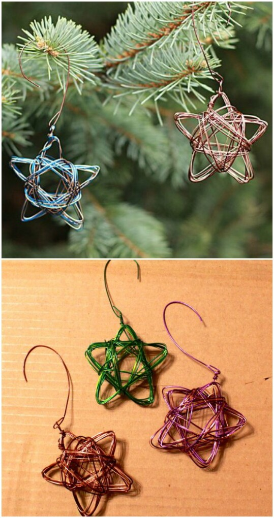 Star Wire Ornaments