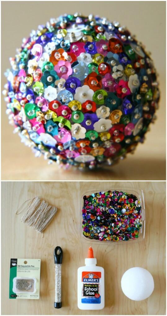 Sequin Sparkles Ornaments