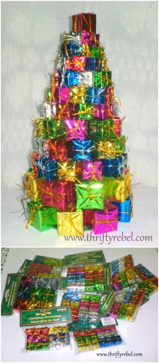 Christmas Tree of Presents