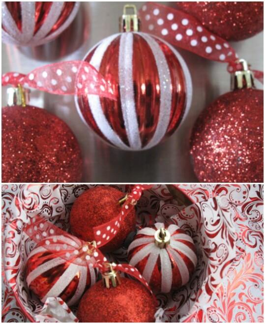Christmas Ornament Refrigerator Magnets