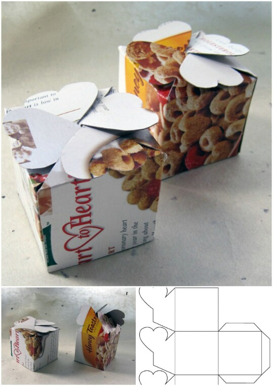 6. Make a clever gift box.