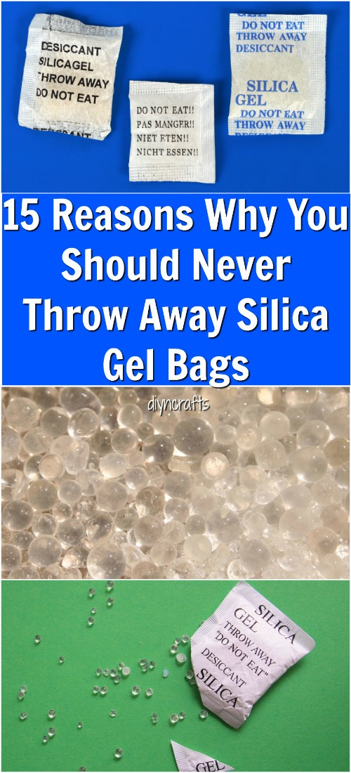 15 Reasons Why You Should Never Throw Away Silica Gel Bags {Videos}
