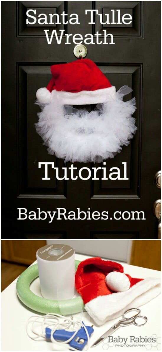 20 DIY Christmas Door Decorations To Make Your Home ... - photo#9