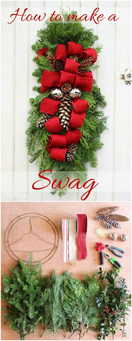 Traditional Christmas Swag