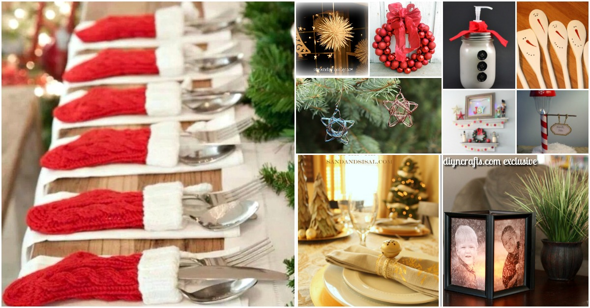40 Festive Dollar Store Christmas Decorations You Can Easily DIY - DIY &  Crafts - 40 Festive Dollar Store Christmas Decorations You Can Easily DIY