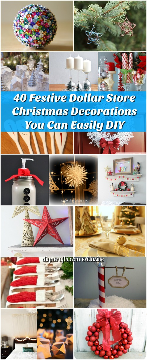 40 festive dollar store christmas decorations you can easily diy its that time of year