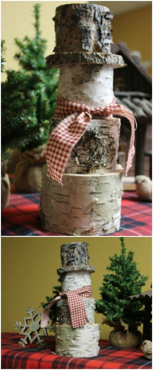 16 Rustic Farmhouse Inspired DIY Christmas Decoration Ideas