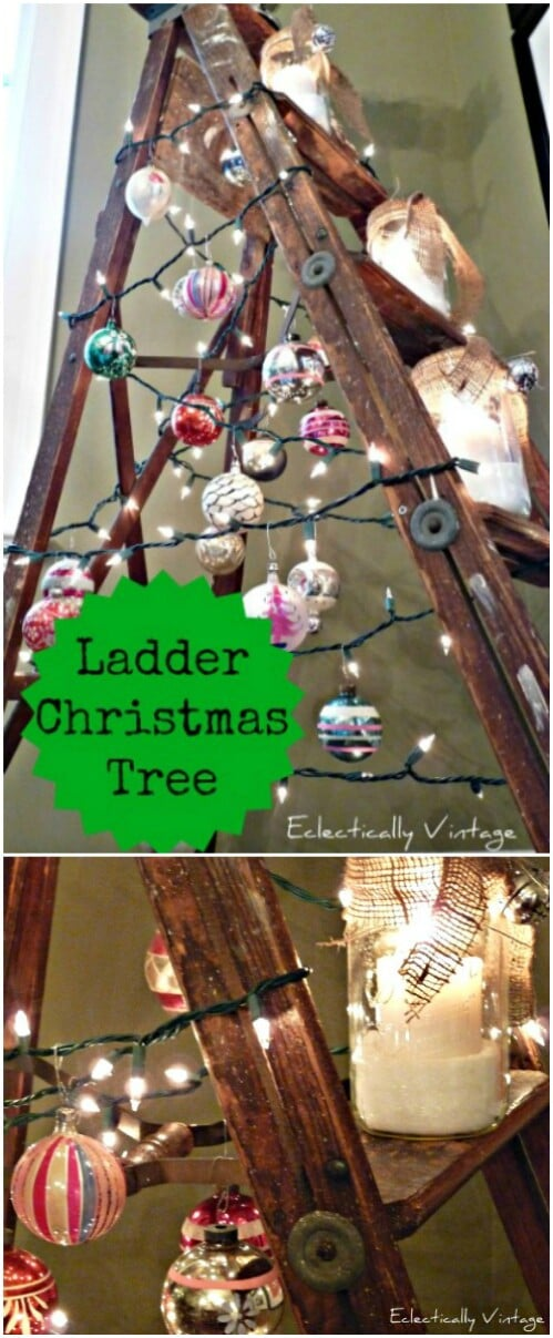 Ladder Christmas Tree