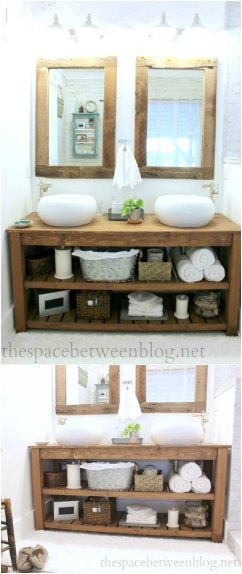 20 Gorgeous Diy Bathroom Vanities To Beautify Your Beauty Routine
