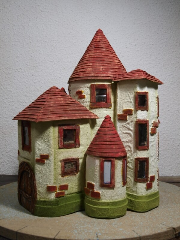 Finished Fairy Castle.