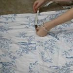 How to Turn an Old Bed Sheet Into a Beautiful Maxi Dress