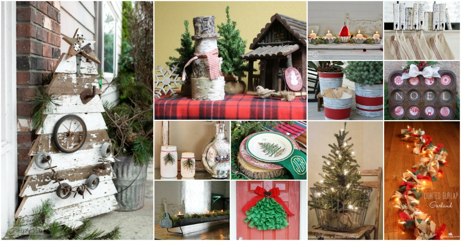 25 Gorgeous Farmhouse Inspired DIY Christmas Decorations For A Charming Country