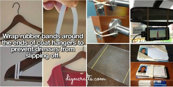 These 25 Genius Rubber Band Hacks Will Make Your Life Easier