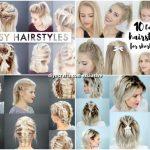 40 Effortlessly Stress-Free DIY Hairstyles for Glamorous Short Hair