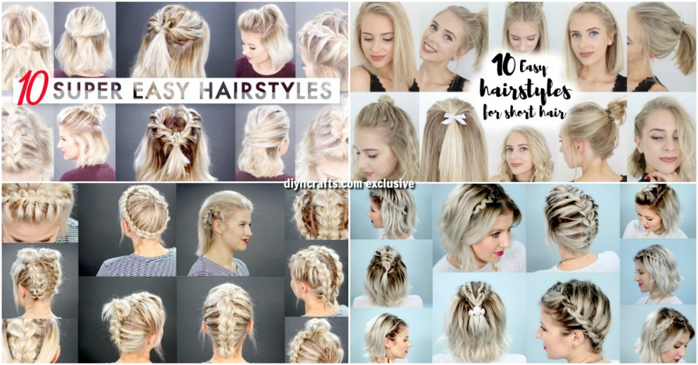 40 Effortlessly Stress Free DIY Hairstyles for Glamorous