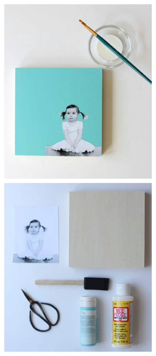 Modern Photo Wall Art DIY
