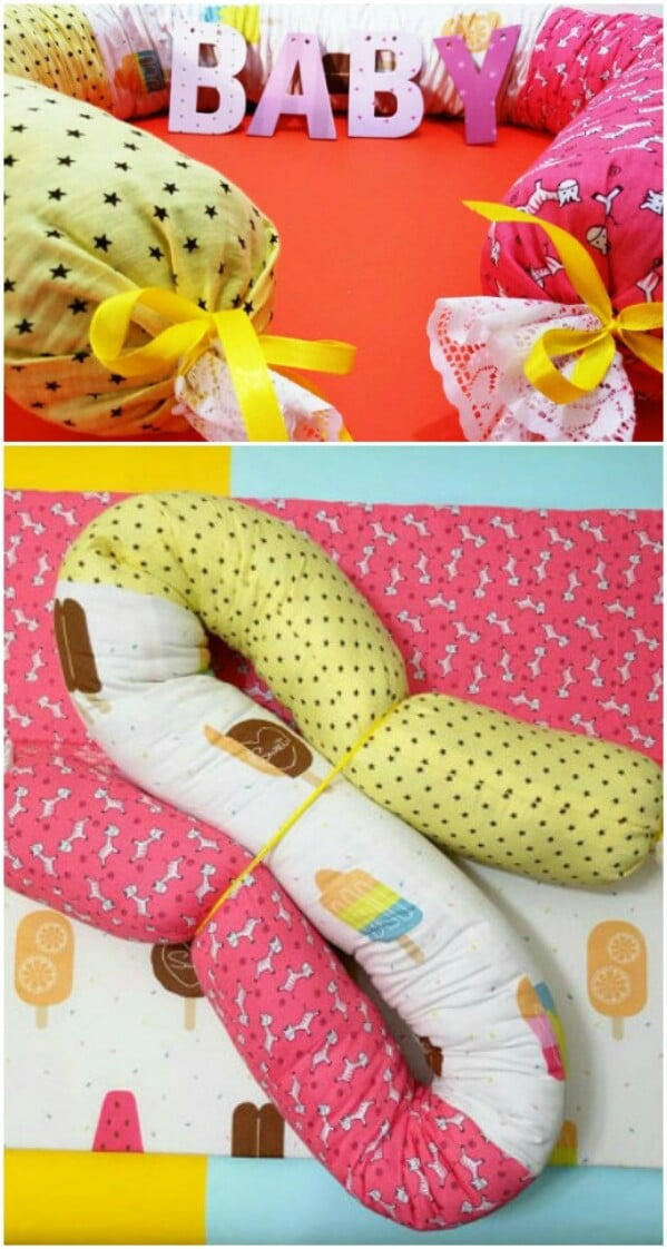 f6c4f2ef1ff0 Snake pillows aren t just cute and cozy—they are actually designed to help  keep baby safe! They can provide extra protection in the crib or define ...