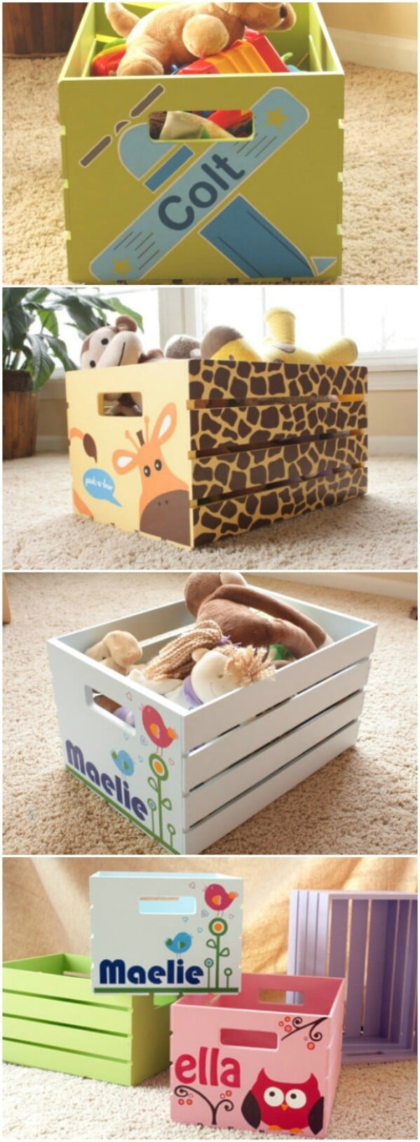 Cute Customized Storage Boxes