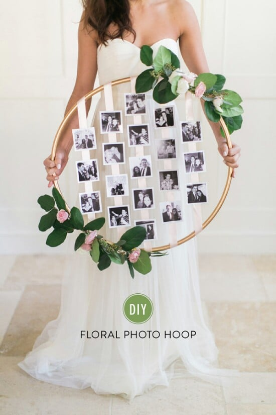 DIY Photo Hoop