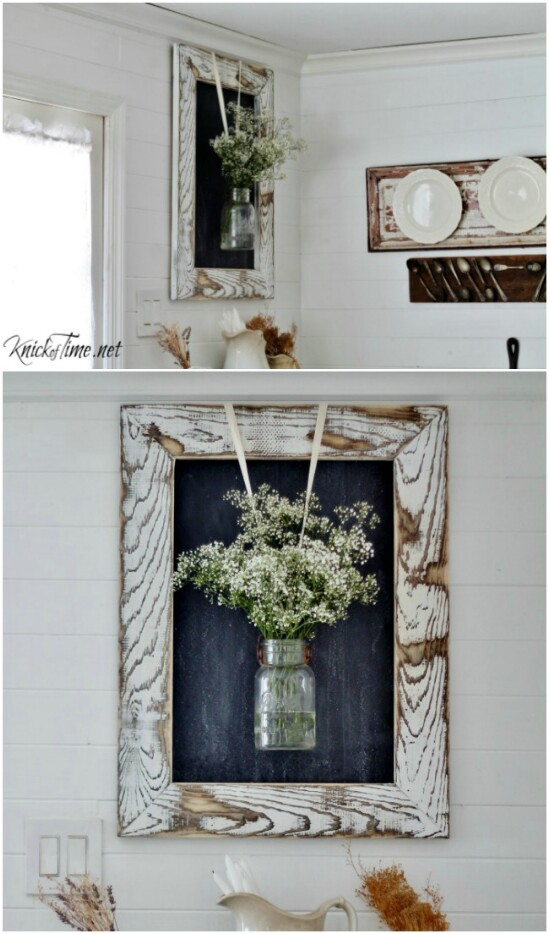 Farmhouse Rustic Wood Frame
